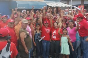 Apoyo del pueblo venezolano